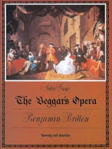 Benjamin Britten - The Beggar's Opera Opus 43 - Partition - di-arezzo.fr