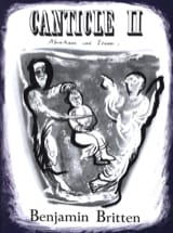 Benjamin Britten - Canticle 2 Opus 51 - Partition - di-arezzo.fr