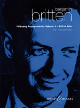 Benjamin Britten - Folksongs Volume 1. Voix Haute British Isles - Partition - di-arezzo.fr