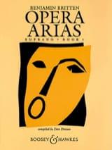 Benjamin Britten - Opera Arias Soprano Volume 1 - Partition - di-arezzo.fr