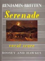Serenade Opus 31 Benjamin Britten Partition Cor - laflutedepan.com