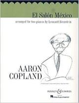 El Salon Mexico. 2 Pianos COPLAND Partition Piano - laflutedepan
