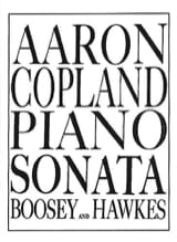 Sonate COPLAND Partition Piano - laflutedepan