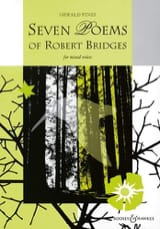 7 Poems Of Robert Bridges Gerald Finzi Partition Chœur - laflutedepan