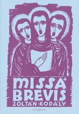 Zoltan Kodaly - Missa Brevis - Partition - di-arezzo.fr
