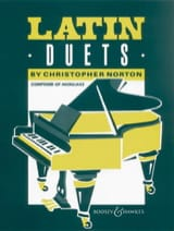 Latin Duets - christopher Norton - Partition - laflutedepan.com