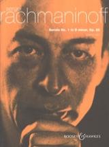 Sonate pour piano n° 1 Opus 28 Sergei Rachmaninov laflutedepan.com