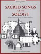 Sacred Songs For The Soloist. Voix Haute Partition laflutedepan.com