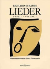 Richard Strauss - Lieder. Volume 1 (Opus 10 A 41) - Partition - di-arezzo.fr