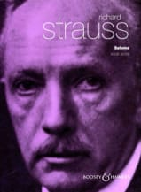 Salome Opus 54 Richard Strauss Partition Opéras - laflutedepan.com