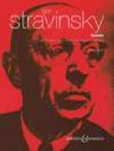 Igor Stravinski - Cantata - Partition - di-arezzo.fr