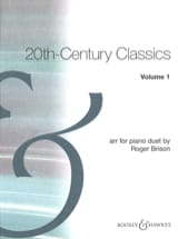 20th Century Classics. Volume 1. 4 mains Partition laflutedepan