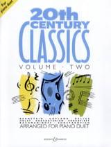 20th Century Classics. Volume 2. 4 mains Partition laflutedepan.com