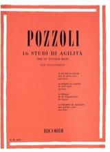 Ettore Pozzoli - 16 Studi Di Agilita Per le Piccole Mani - Partition - di-arezzo.fr