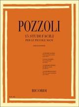 15 Studi Facili Per le Piccole Mani Ettore Pozzoli laflutedepan.com