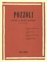 Ettore Pozzoli - Studi A Moto Rapido - Partition - di-arezzo.fr