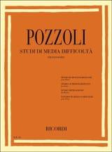 Ettore Pozzoli - Studi Di Media Difficolta - Partition - di-arezzo.fr