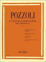 Ettore Pozzoli - La Tecnica Giornaliera Del Pianista Volume 1-2 - Partition - di-arezzo.fr