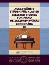 Etudes Choisies Volume 3 Teöke Partition Piano - laflutedepan.com