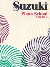 Suzuki Piano School Volume 4 - Suzuki - Partition - laflutedepan.com