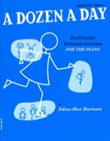 A Dozen A Day Volume 1 en Anglais Partition Piano - laflutedepan