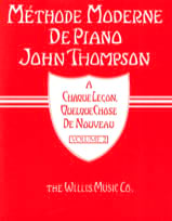 Méthode Moderne de Piano Volume 2 John Thompson Partition laflutedepan
