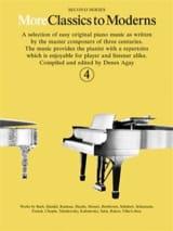 More Classics To Moderns Volume 4 - Partition - laflutedepan.com