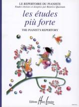 Les Etudes Piu Forte Partition Piano - laflutedepan.com
