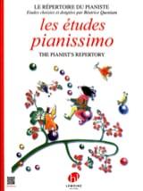 Les Etudes Pianissimo - Béatrice Quoniam - laflutedepan.com