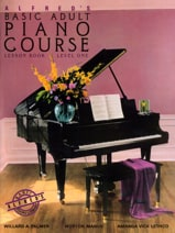 Alfred's Basic Adult Piano Course Vol. 1 ALFRED laflutedepan.com