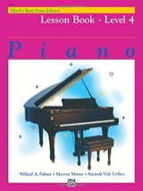 Alfred's Basic Piano Library: Lesson Book 4 - laflutedepan.com