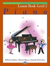 Lesson Book Level 2 - Piano ALFRED Partition Piano - laflutedepan.com