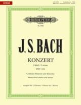 Concerto pour clavier En Fa Mineur BWV 1056 BACH laflutedepan.com