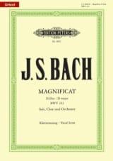 BACH - Magnificat en Ré Majeur - Partition - di-arezzo.fr