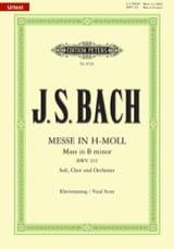 Messe En Si Mineur BWV 232 Jean-Sébastien Bach laflutedepan.com
