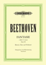 Ludwig van Beethoven - Fantasie - Opus 80 - Partition - di-arezzo.fr