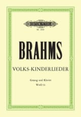 BRAHMS - Volks-Kinderlieder WoO 31 - Sheet Music - di-arezzo.co.uk