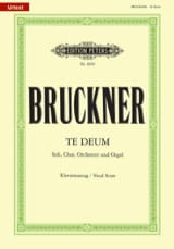 Anton Brückner - Te Deum - Sheet Music - di-arezzo.co.uk