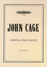 Nowth Upon Nacht John Cage Partition Mélodies - laflutedepan.com