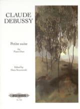 Petite Suite. 4 Mains DEBUSSY Partition Piano - laflutedepan
