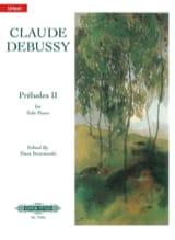 Préludes. 2ème Livre - Claude Debussy - Partition - laflutedepan.com