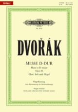 DVORAK - Mass in Major Major Opus 86 - Sheet Music - di-arezzo.com
