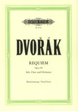 DVORAK - Requiem Opus 89 - Partitura - di-arezzo.it