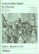 HAENDEL - 2 Gesänge aus den Deutschen Arien. - Sheet Music - di-arezzo.co.uk