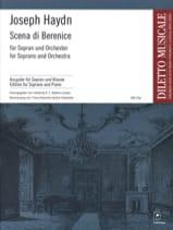 Joseph Haydn - Scena Di Berenice Hob 24a-10 - Partition - di-arezzo.fr