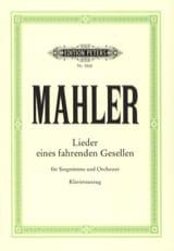 Gustav Mahler - Lieder Eines Fahrender Gesellen - Partition - di-arezzo.fr