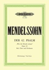 Der 42. Psalm. Wie Der Hirsch Schreit MENDELSSOHN laflutedepan.com