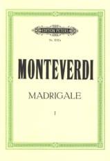 Madrigale. Volume 1 Claudio Monteverdi Partition laflutedepan.com