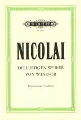 Die Lustigen Weiber Von Windsor Otto Nicolai laflutedepan.com