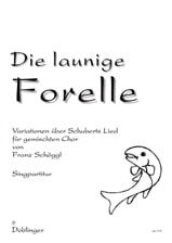 Die launige Forelle - Franz Schöggl - Partition - laflutedepan.com